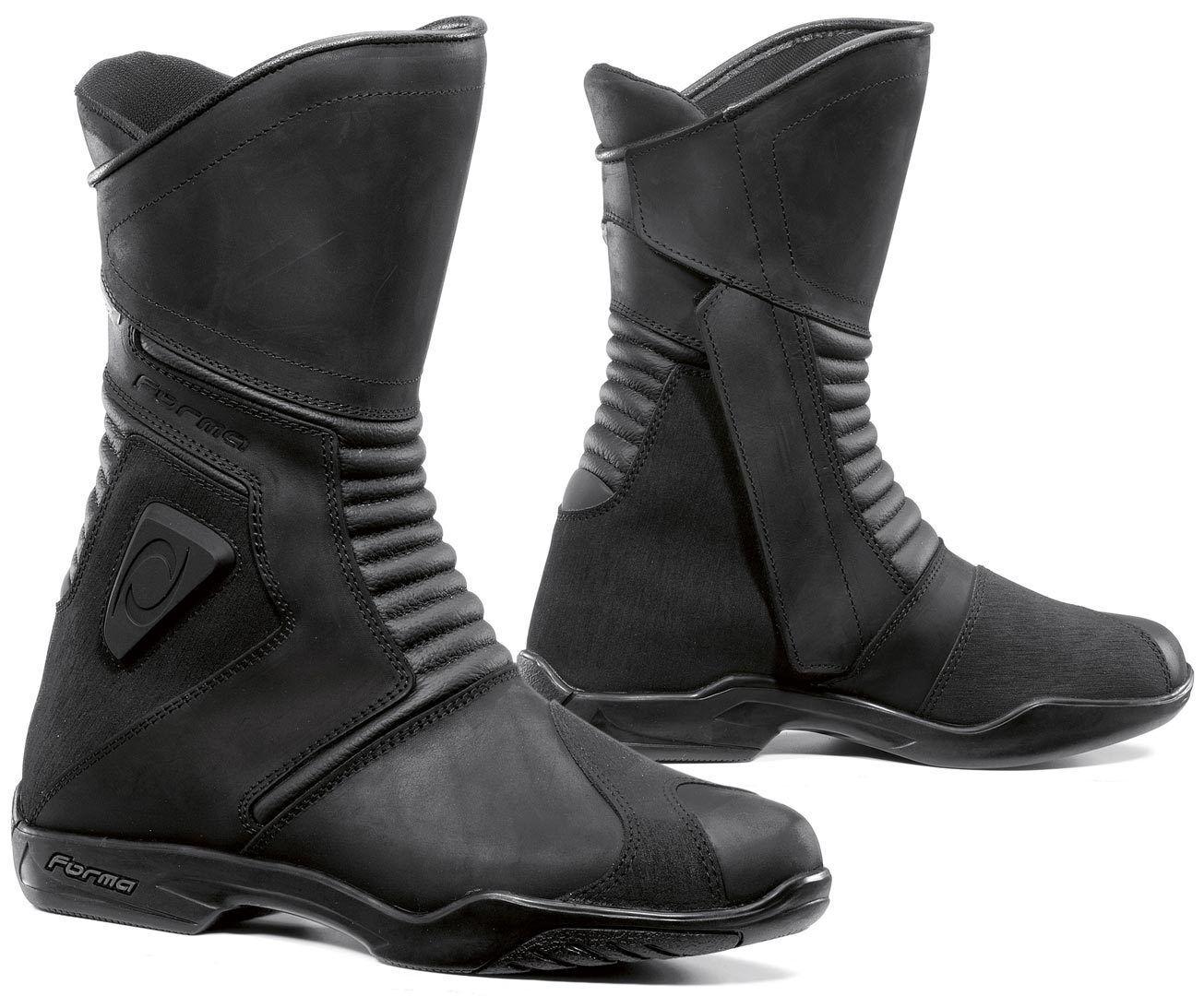 Forma Voyage Bottes de moto imperméables Noir taille : 41