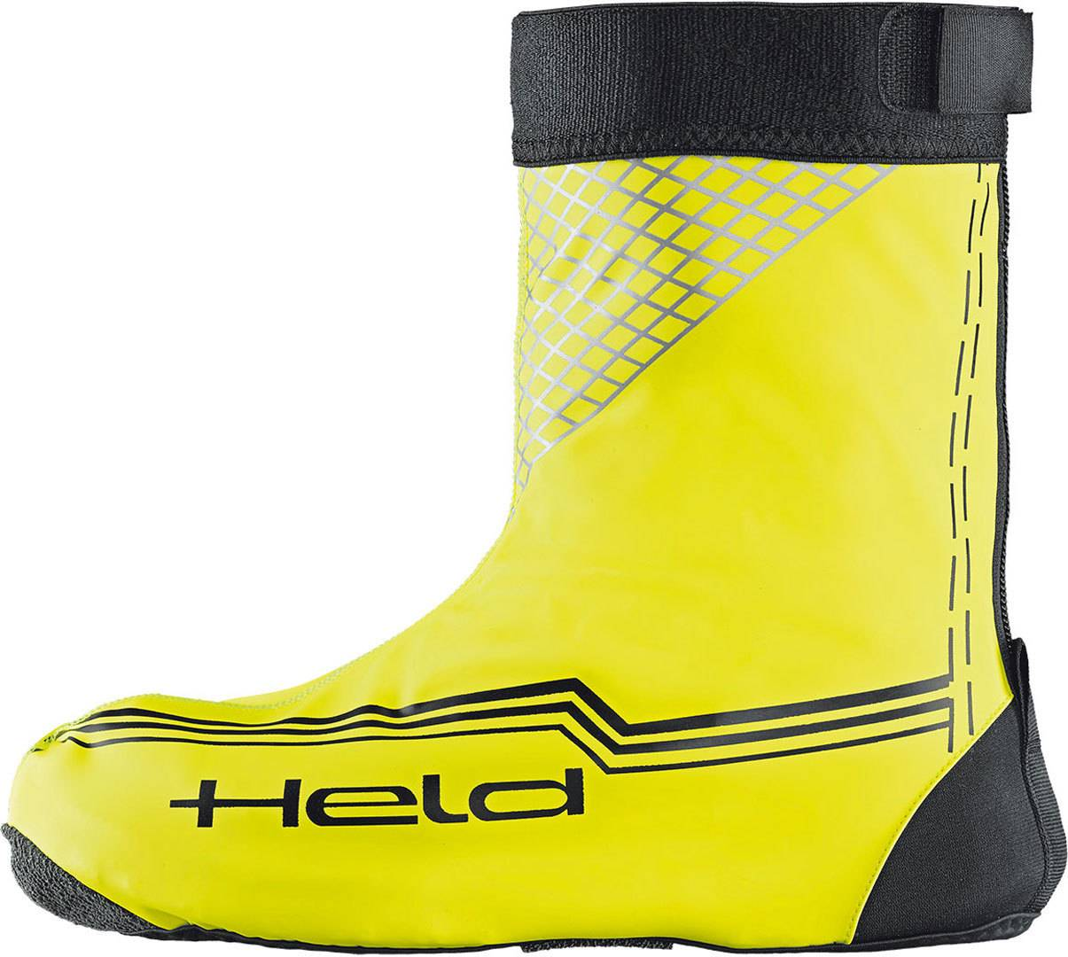 Held Boot Skin Rain Over bottes courtes Jaune taille : M
