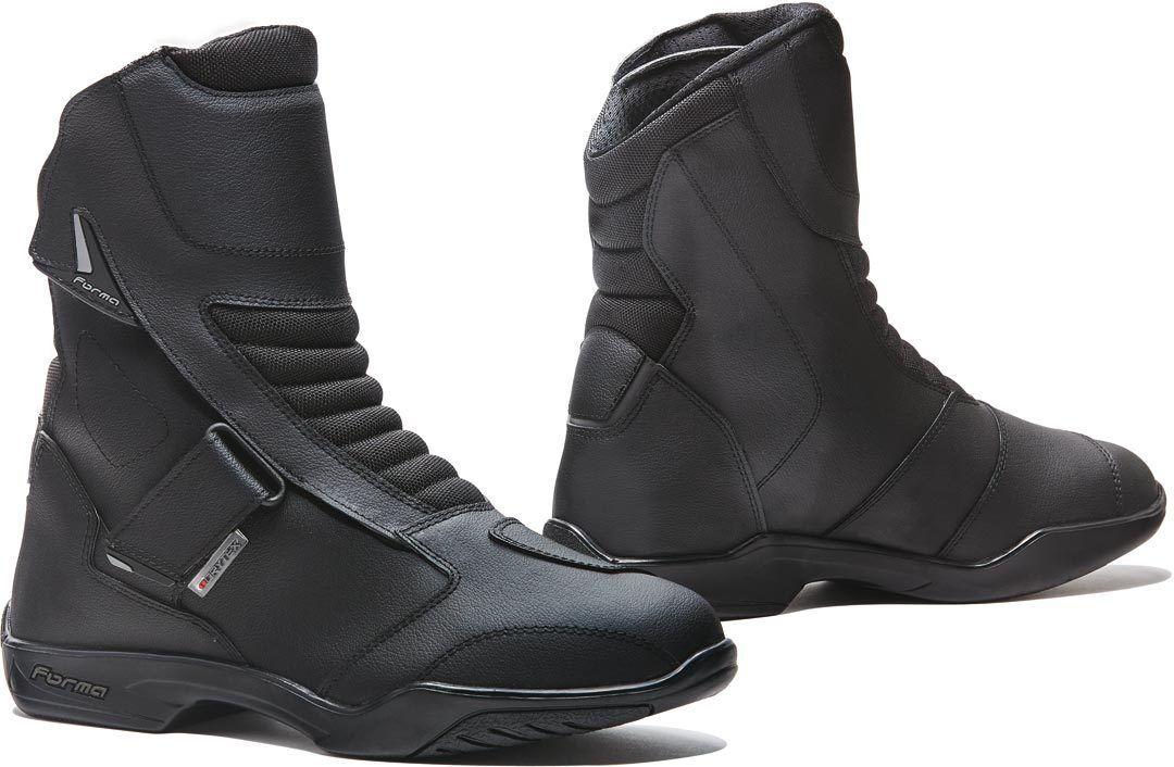 Forma Rival Bottes de moto imperméables Noir taille : 43