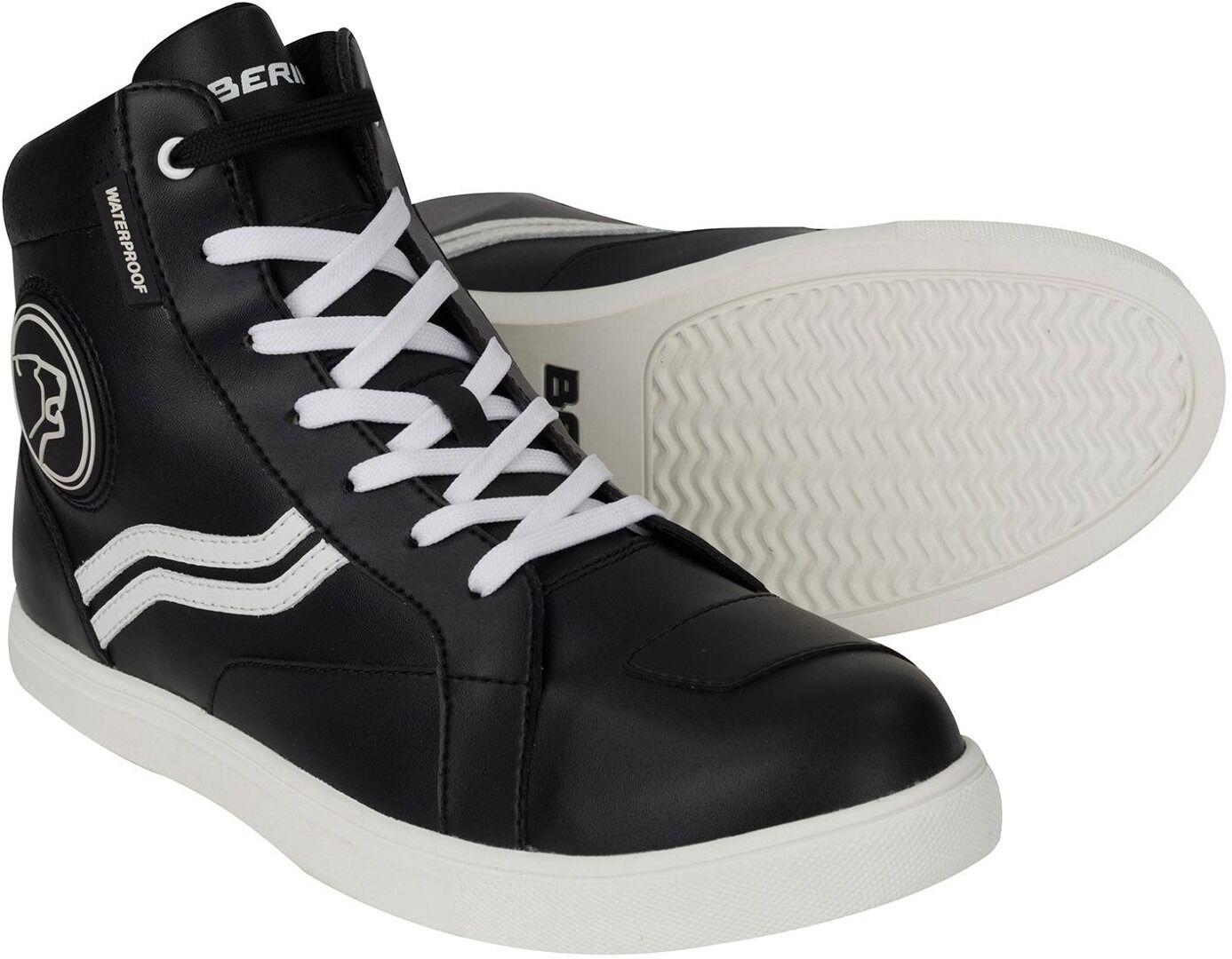 Bering Stars Chaussures de moto Noir Blanc taille : 39