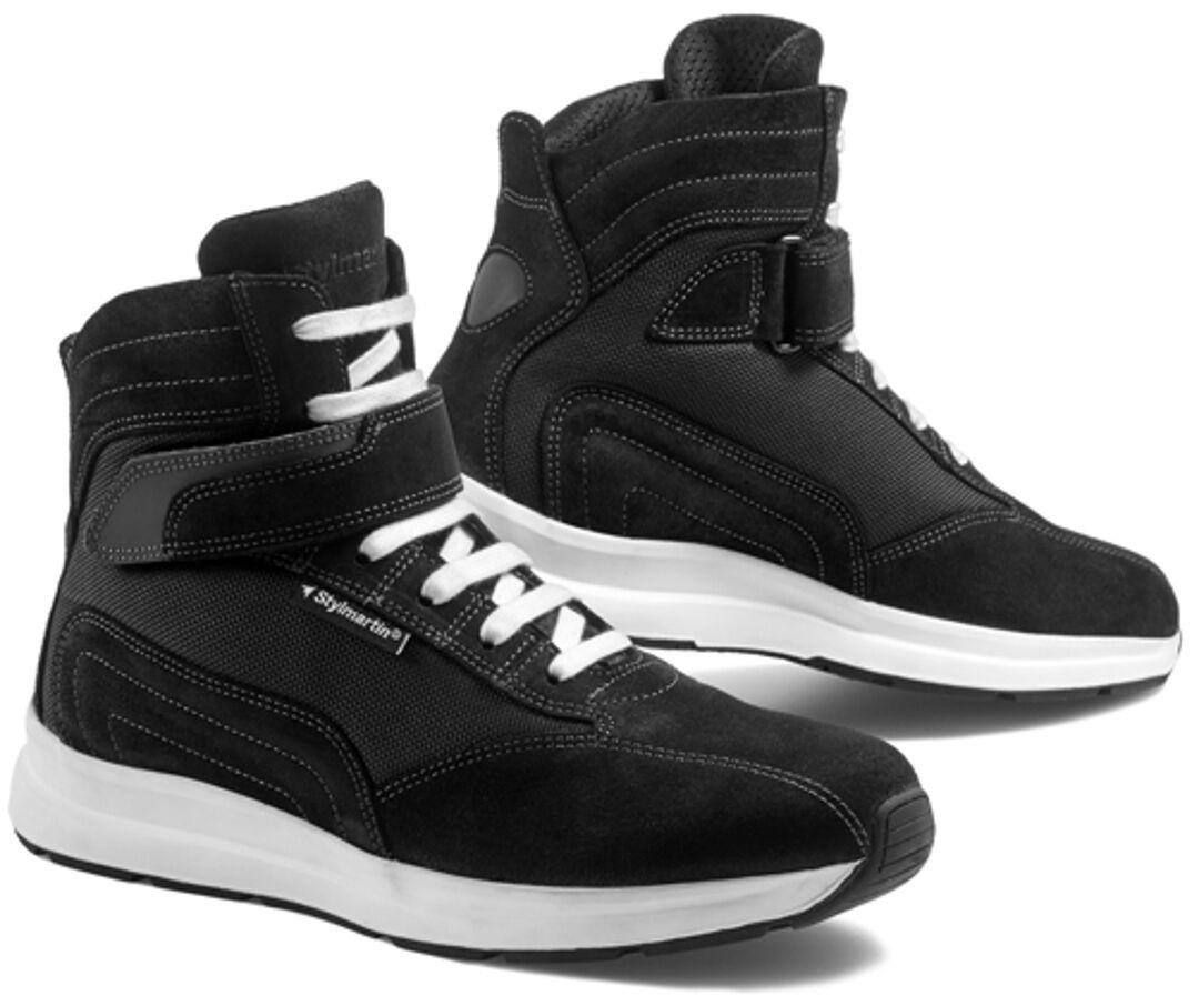 Stylmartin Audax Chaussures de moto Noir Blanc taille : 47
