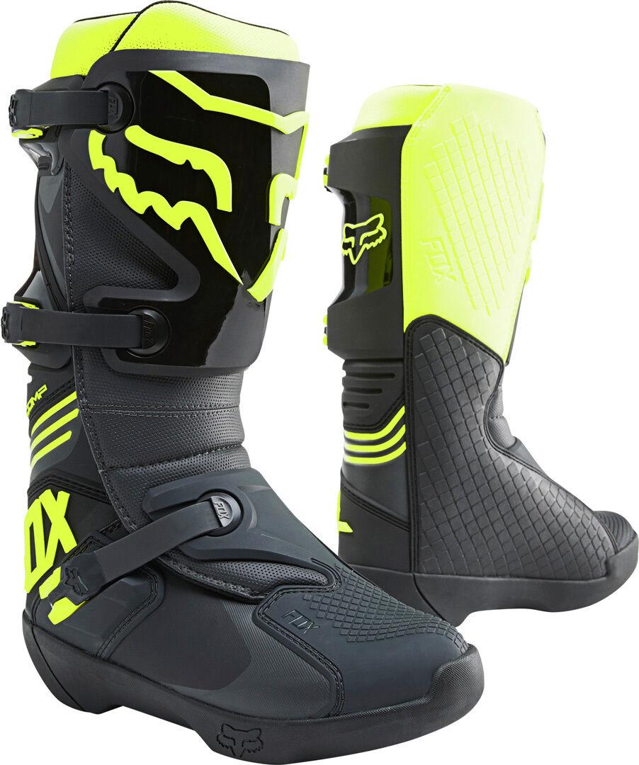 FOX Comp Bottes motocross Noir Jaune taille : 47 48