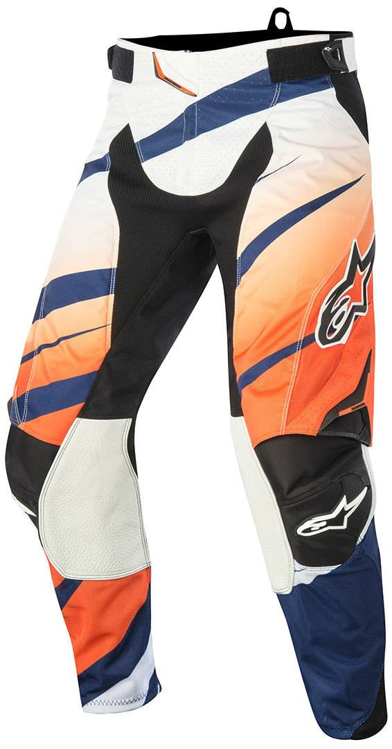 Alpinestars Techstar Venom Pantalon Motocross 2015 Blanc Bleu Orange taille : 28