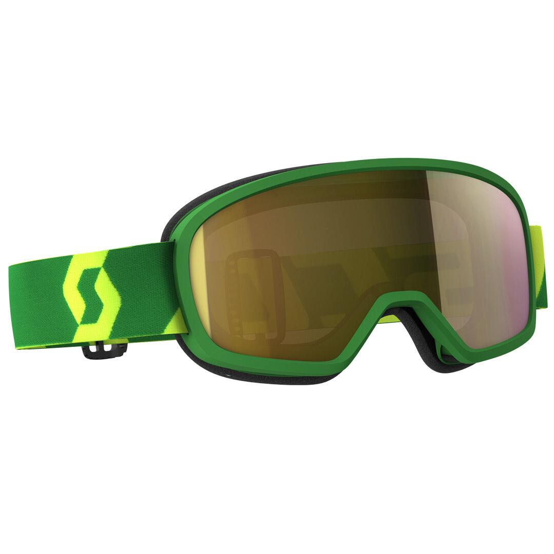 Scott Buzz MX Pro Masques de Motocross enfants Vert Jaune taille :