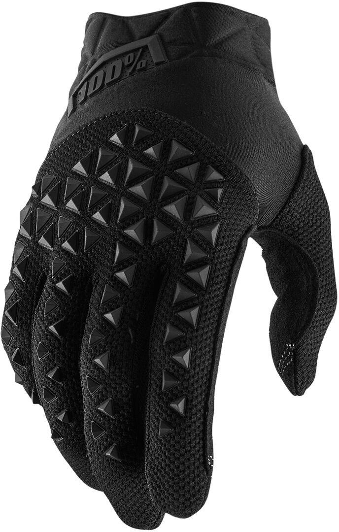 100% Airmatic Youth Gloves Gants pour les jeunes Noir taille : S