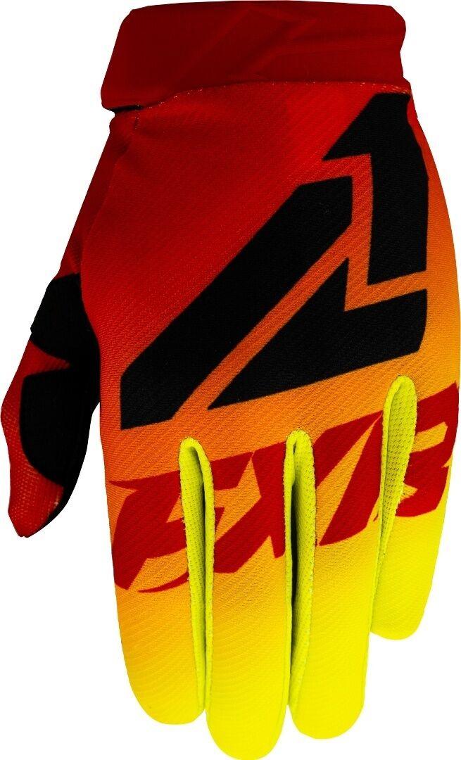 FXR Clutch Strap MX Gear Gants de motocross pour les jeunes Rouge Jaune taille : M