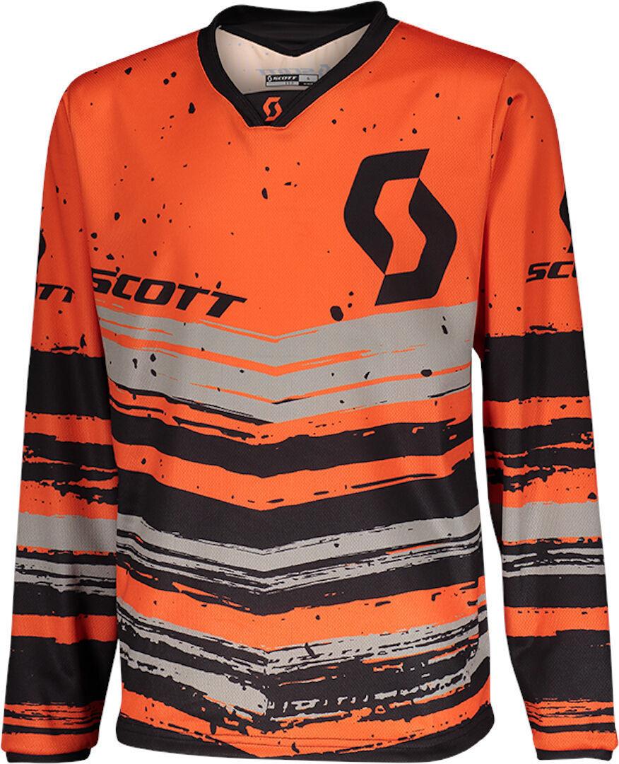 Scott 350 Noise Maillot de Motocross pour enfants Noir Orange taille : XS