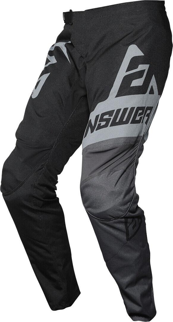 Answer Racing Answer Syncron Voyd Pantalon motocross pour les jeunes Noir Gris taille : 24