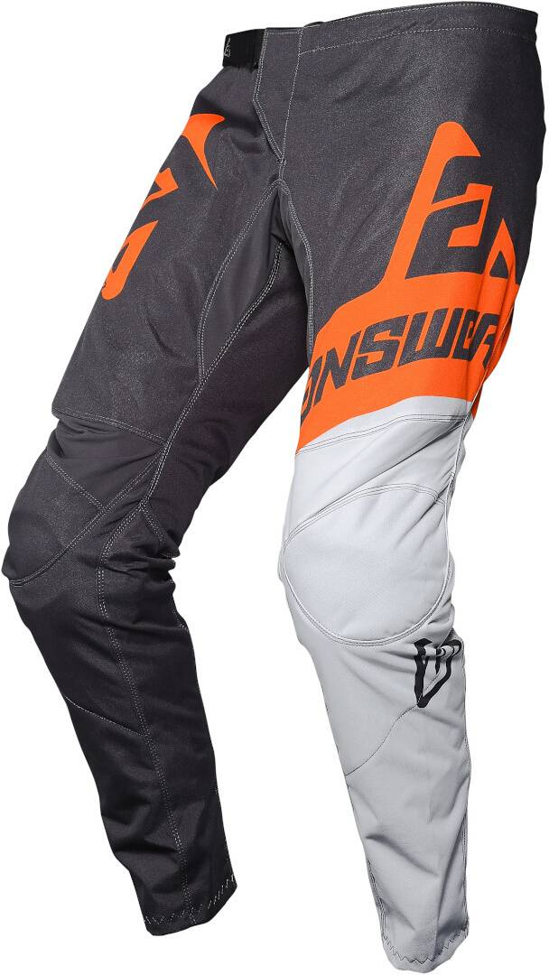 Answer Racing Answer Syncron Voyd Pantalon motocross pour les jeunes Noir Blanc Orange taille : 24
