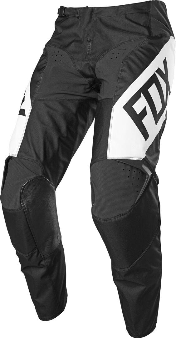 Fox 180 REVN Pantalon motocross pour les jeunes Noir Blanc taille : 26