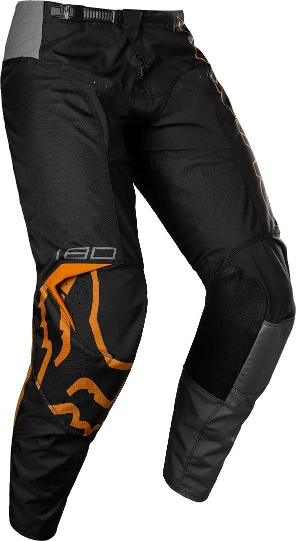 FOX 180 Skew Pantalon de motocross pour les jeunes Gris Orange taille : 24