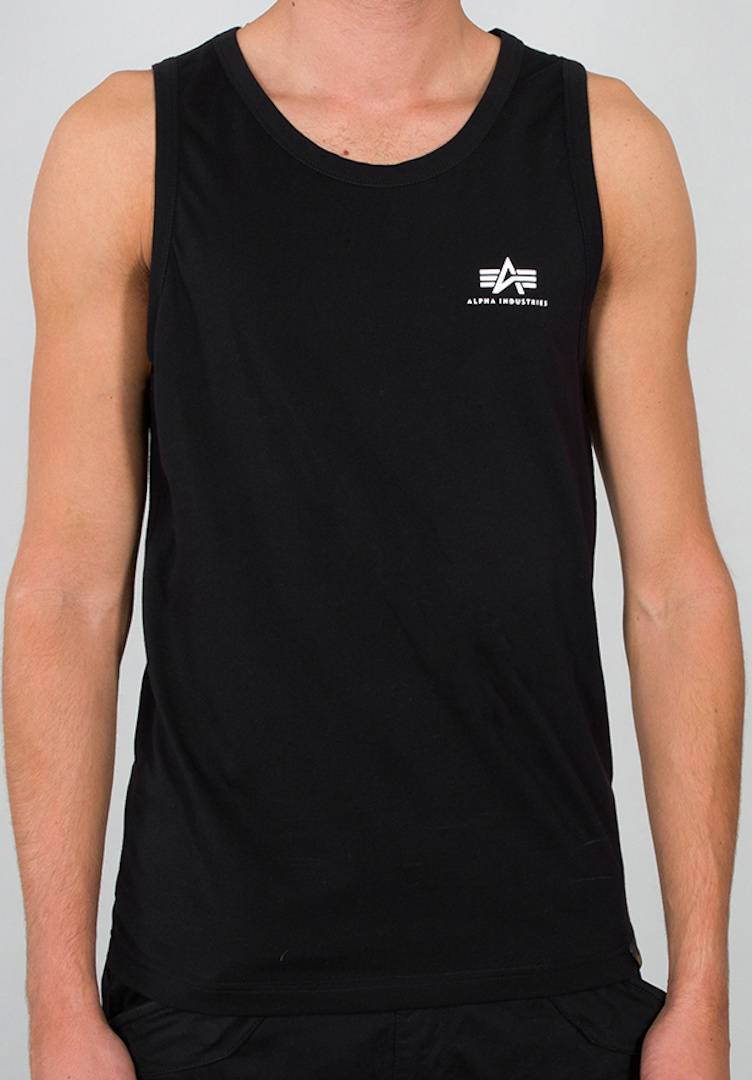 Alpha Industries Small Logo pull Noir taille : 2XL