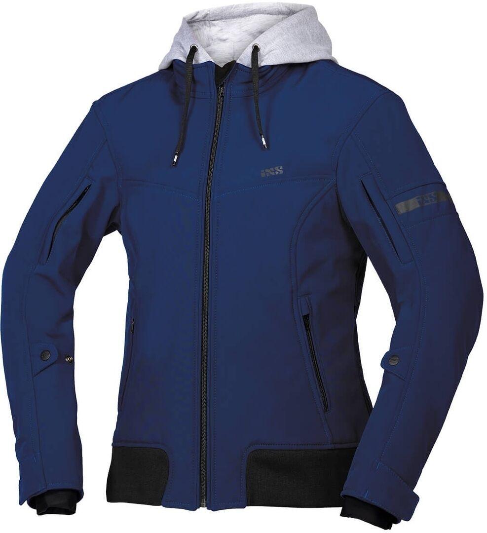 IXS Classic SO Moto Veste textile de moto de dames Bleu taille : 2XL