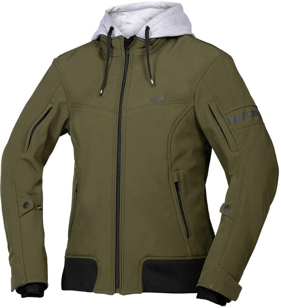 IXS Classic SO Moto Veste textile de moto de dames Vert taille : S