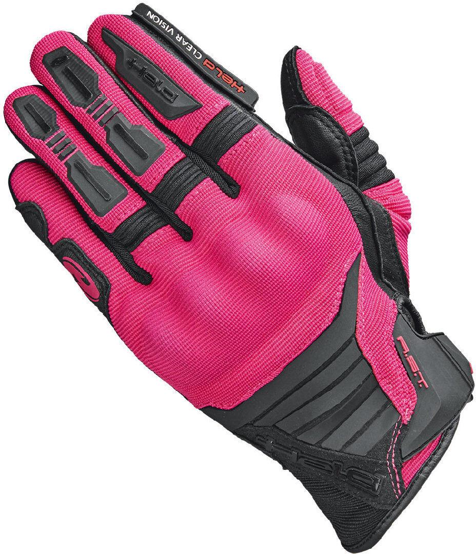 Held Hamada Gants Motocross Dames Noir Rose taille : S