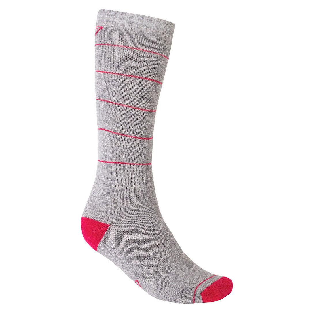 Klim Hibernate Socken - Damen Gris Rouge taille : S
