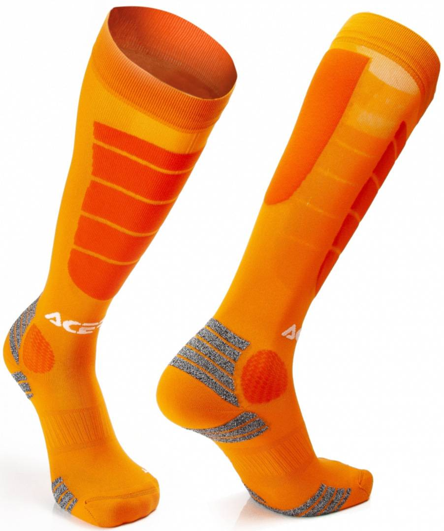 Acerbis Motocross Impact Chaussettes Orange taille : 2XL