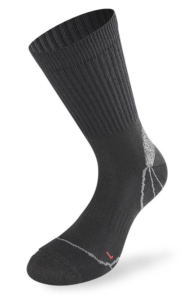 Lenz Trekking 1.0 Socks Chaussettes Noir taille : 35 36 37 38