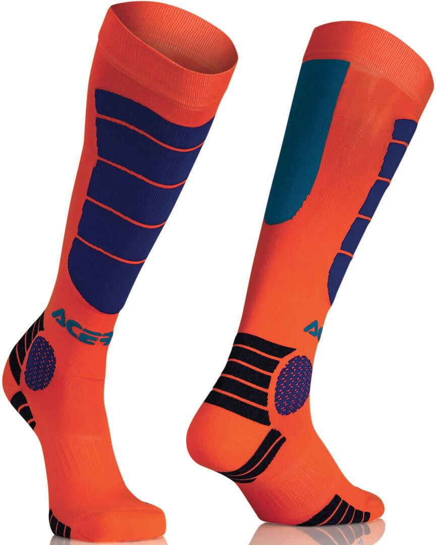 Acerbis MX Impact Chaussettes juniors Orange taille : S M
