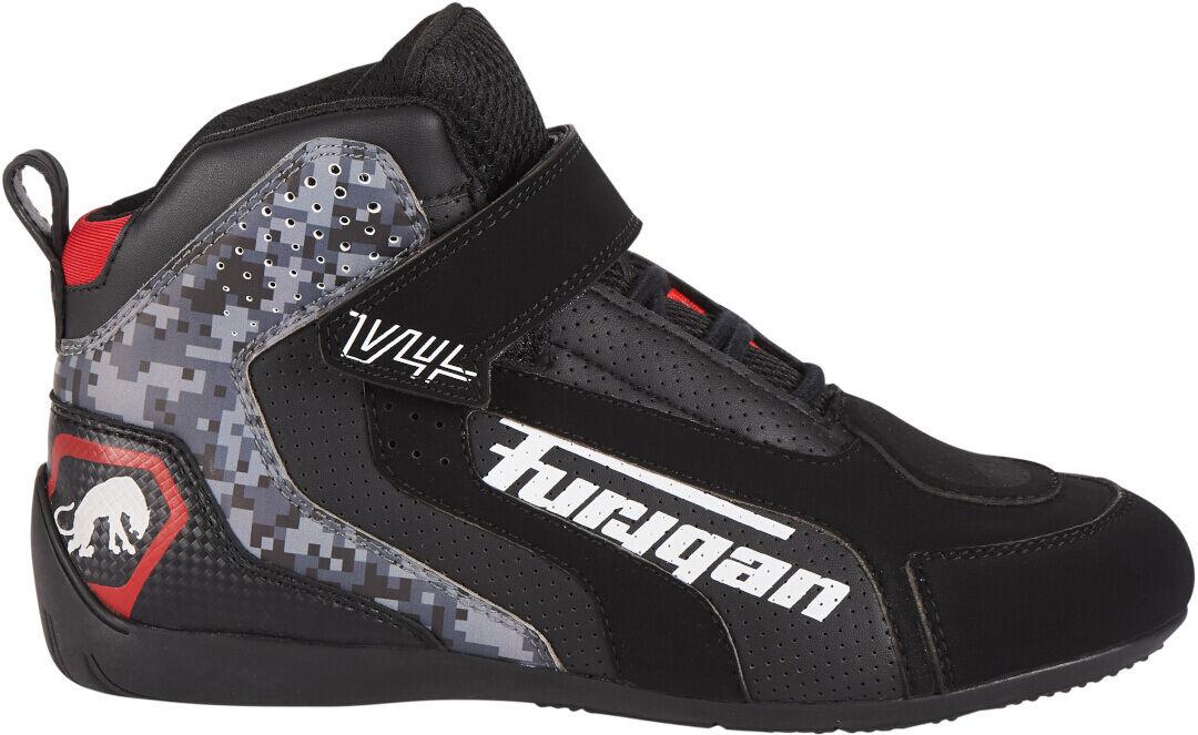 Furygan V4 Vented Chaussures de moto Noir Gris taille : 37