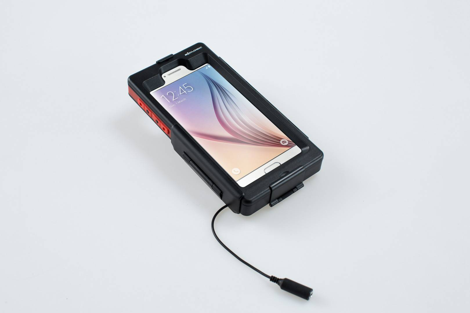 SW-Motech Étui rigide pour Samsung Galaxy S7 - Étanche. Noir. Pour support GPS. taille :