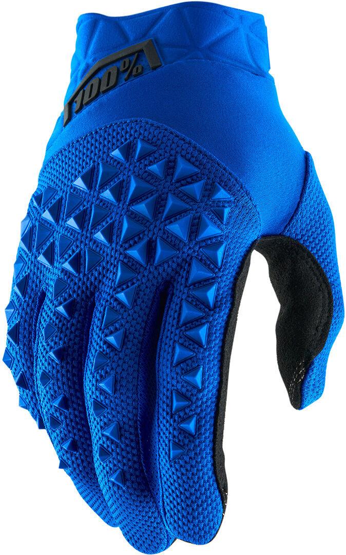 100% Airmatic Gants Noir Bleu taille : 2XL