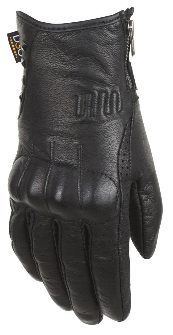 Furygan Elektra D30 Mesdames les gants de moto Noir taille : M