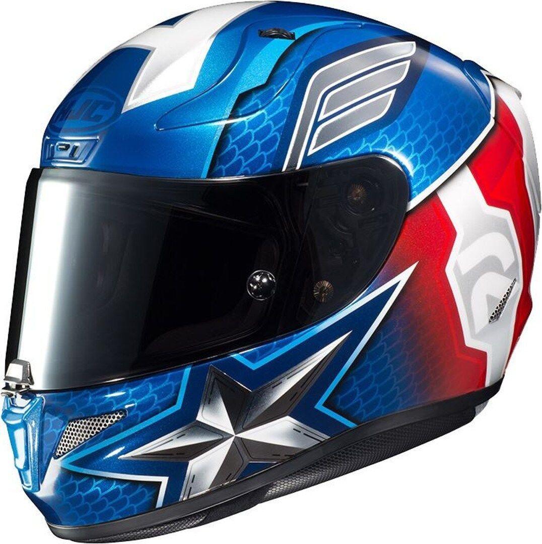 HJC RPHA 11 Captain America Marvel casque Blanc Rouge Bleu XL