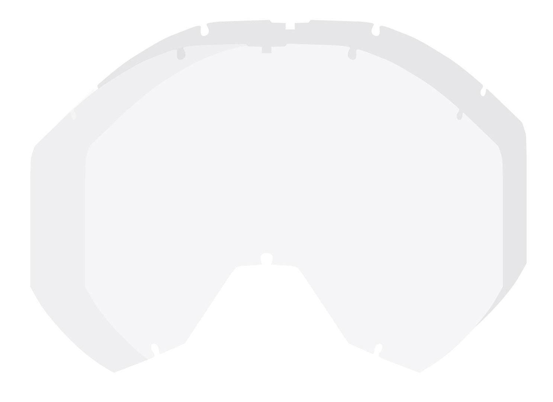 Klim Radius Pro Dbl Lentille de remplacement transparent taille : unique taille