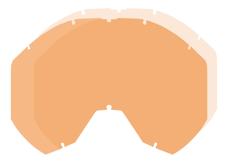 Klim Radius Pro Dbl Lentille de remplacement Orange taille : unique taille
