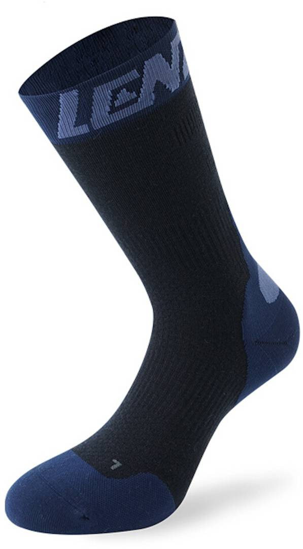 Lenz 7.0 Mid Merino Compression Socks Chaussettes Bleu taille : 35 36 37 38
