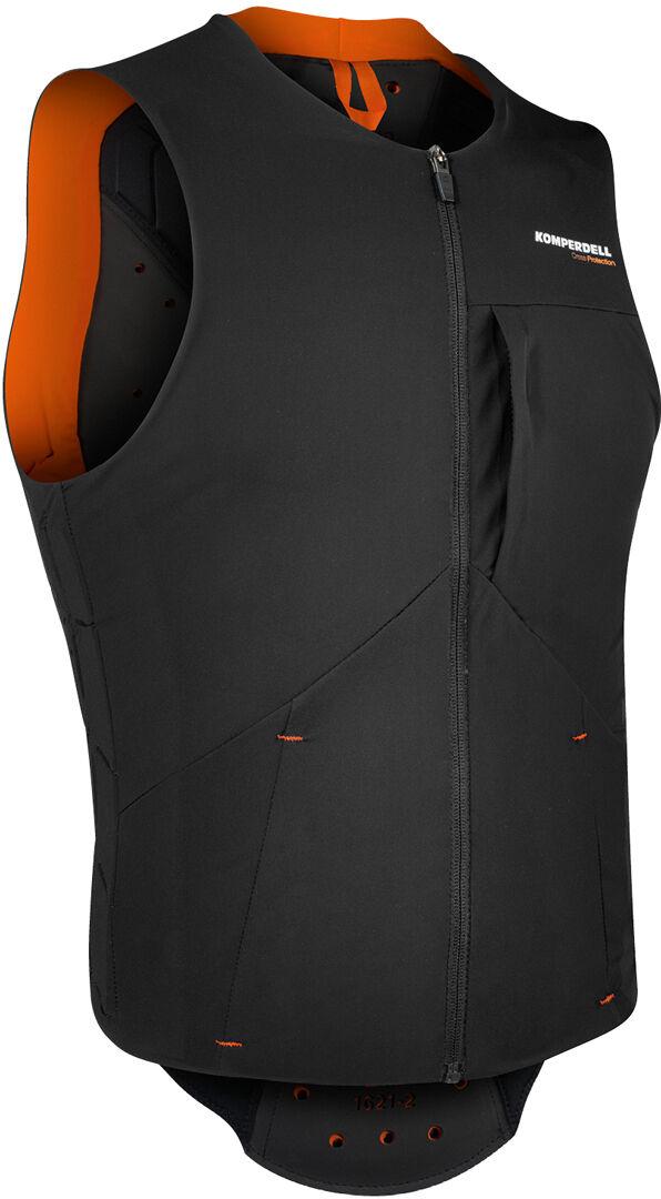 Komperdell Pro Gilet protecteur Noir Orange taille : S