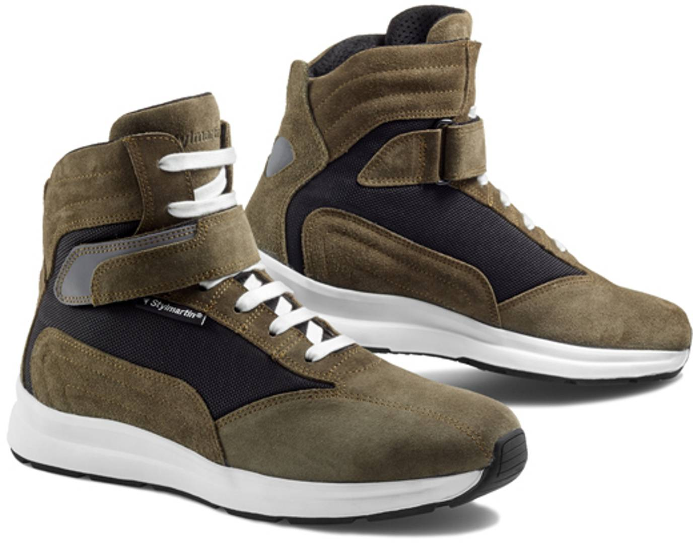 Stylmartin Audax Chaussures de moto Noir Vert taille : 42