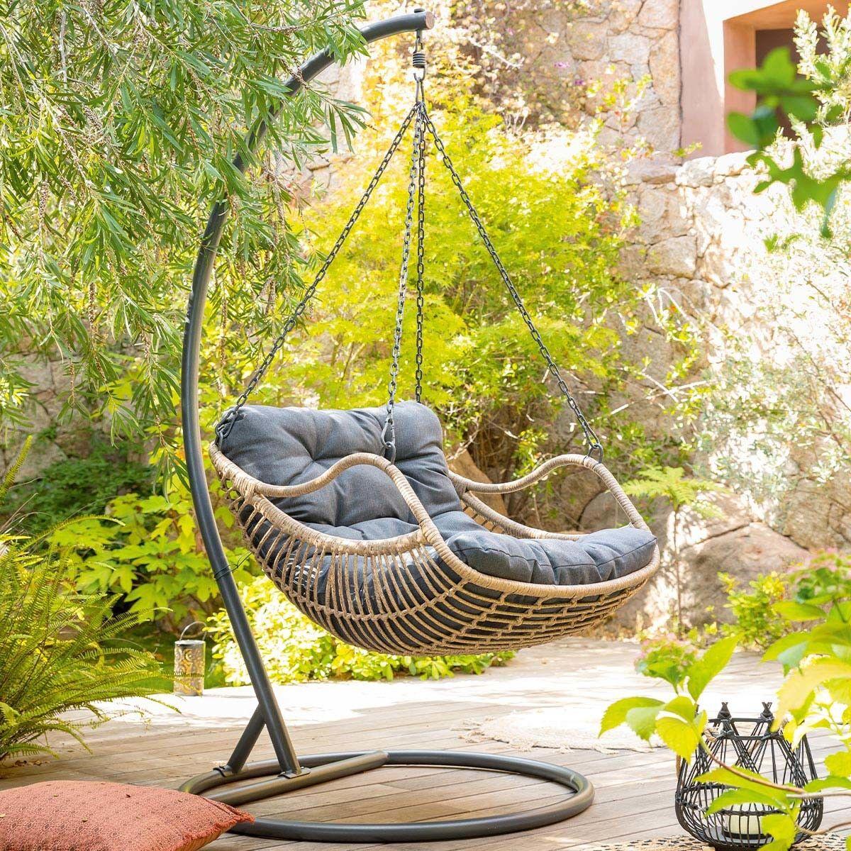 Hespéride Chaise de détente suspendue Gibraltar Jardin
