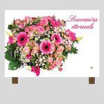 La Boutique Funéraire Plaque funéraire rectangle - Bouquet de fleurs... par LeGuide.com Publicité