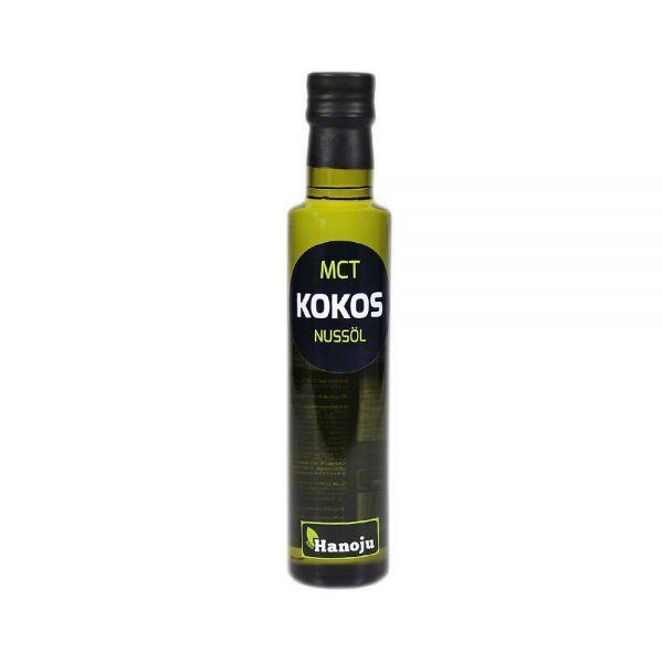 Hanoju Huile de Noix de Coco MCT - 250 ml
