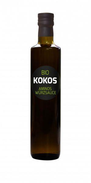 Hanoju Sauce Aminos de Coco Bio - 500 ml