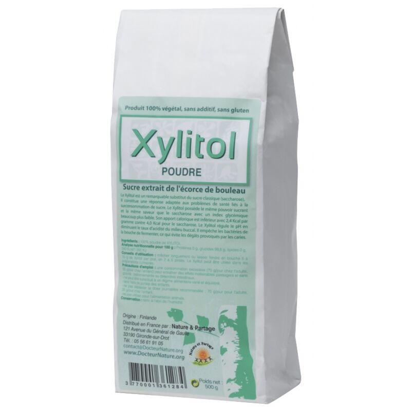 Nature Et Partage Poudre de Xylitol - 500 g