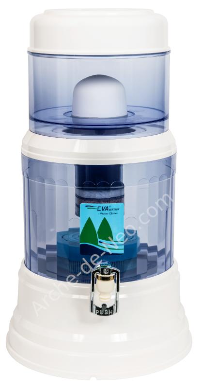 EVA WATER Fontaine EVA 12 litres - Filtration de l'eau
