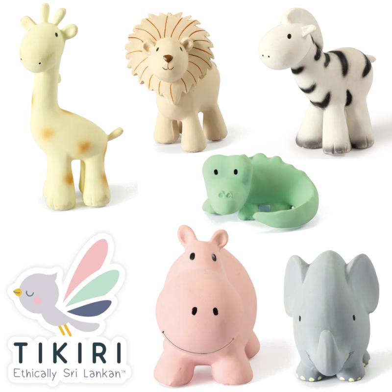 Tikiri Mon premier animal du Zoo Tikiri - Jouet de Bain