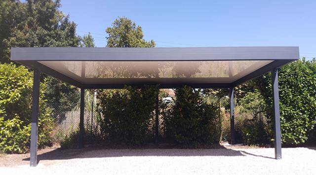 NAO Carport Aluminium Traditionnel