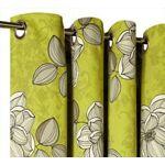 Rideau Fleurs Vert Le Rideauà Motifs Fleurs est confectionné dans un... par LeGuide.com Publicité