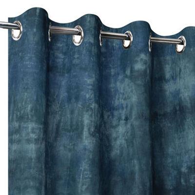 Rideaux en Lin Tie and Dye gris