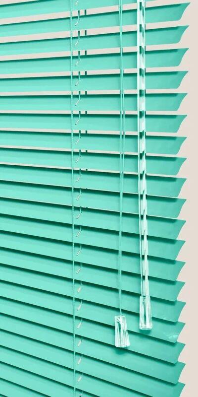 Store Vénitiens Aluminium bleu turquoise