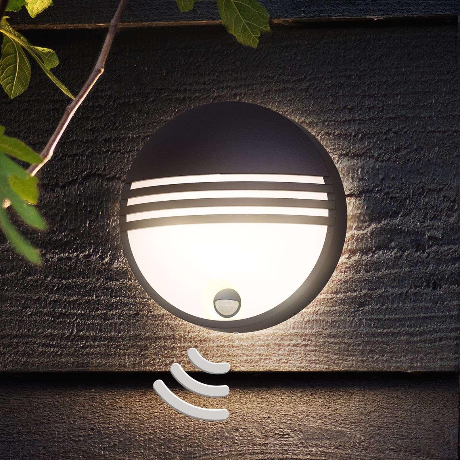 Philips Yarrow applique d'extérieur LED, détecteur