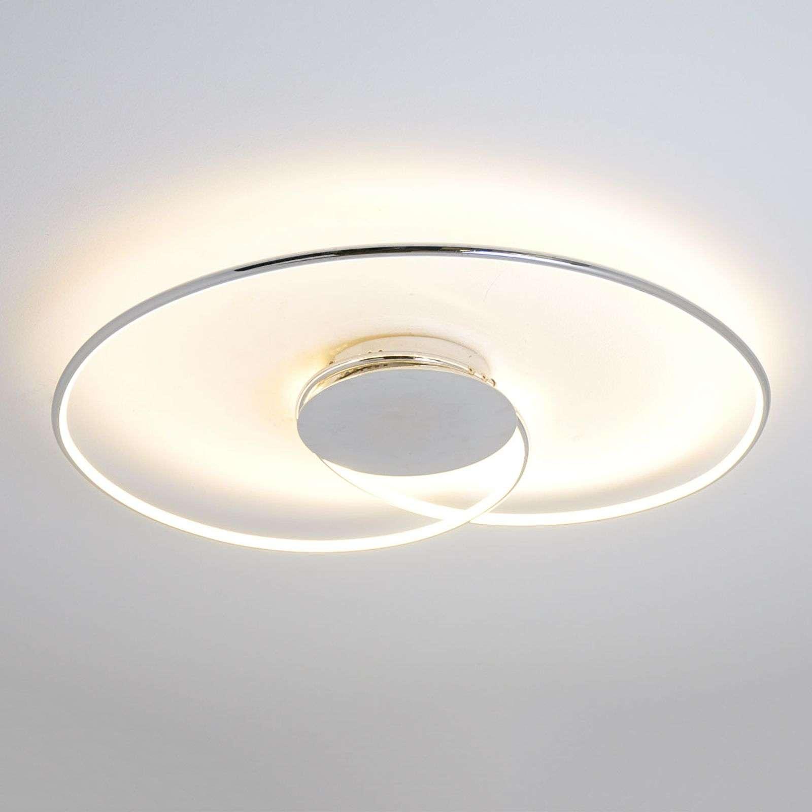 Lampenwelt.com Plafonnier LED gracile Joline - LAMPENWELT.com