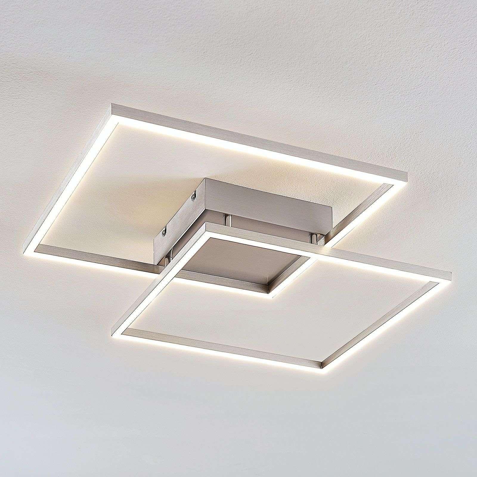 Lampenwelt.com Plafonnier LED Mirac au design intéressant - LAMPENWELT.com