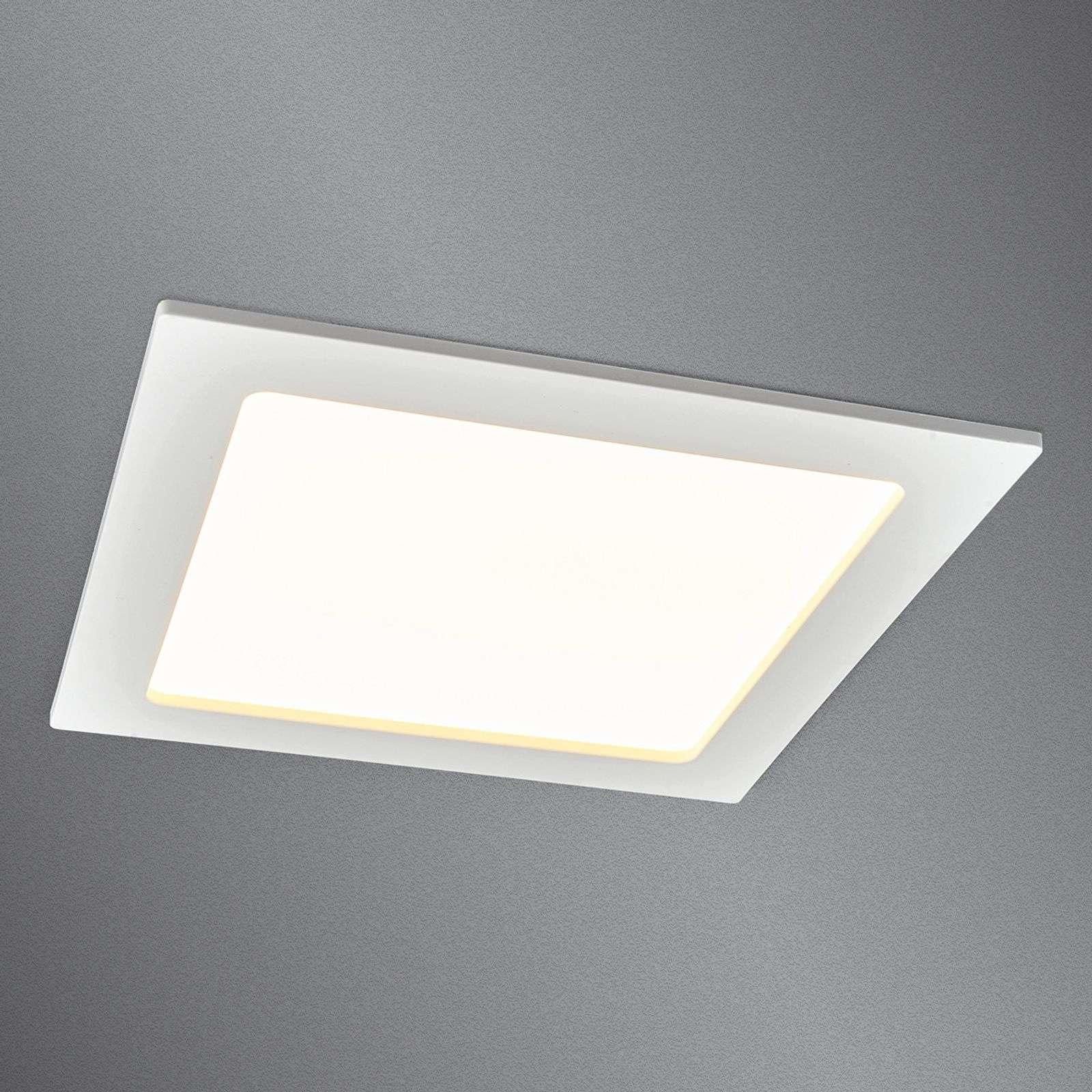 Lampenwelt.com Downlight LED Feva, salle de bains, IP44, 16W - LAMPENWELT.com