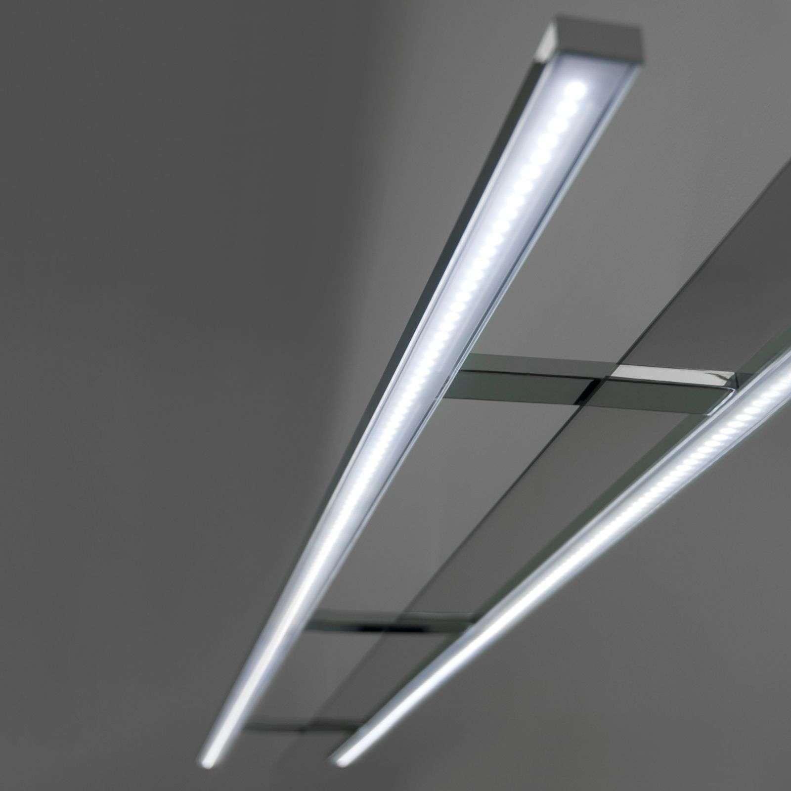 Ebir Applique pour miroir LED Esther de 100 cm de large