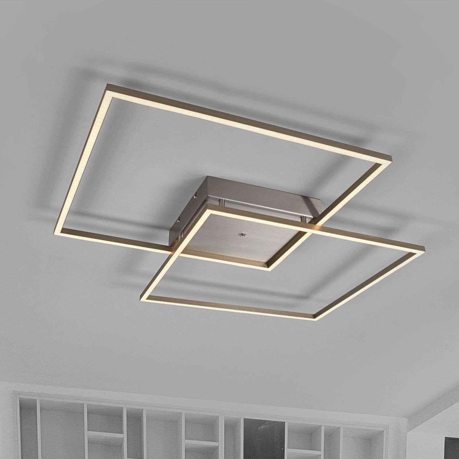 Lampenwelt.com Plafonnier LED lumineux Mirac - LAMPENWELT.com